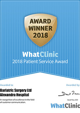 Patient Services Award 2018